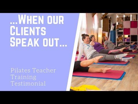 Pilates Teacher Training testimonial - YouTube