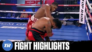 Heavyweight Big Baby Does it Again! Jared Anderson gets 1st Rd TKO of Perez | FULL FIGHT HIGHLIGHTS