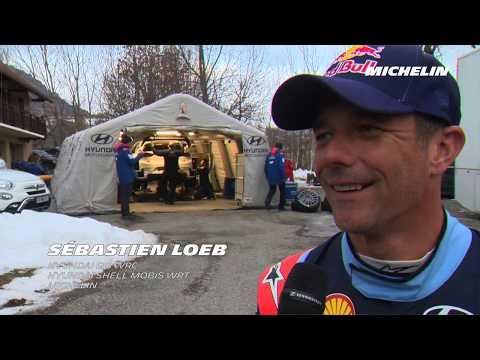 Sebastien Loeb's testing - 2019 WRC Rallye Monte-Carlo -  Michelin Motorsport