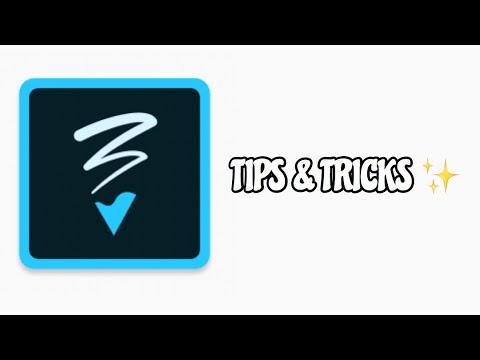 TIPS & TRICKS ✨   ADOBE SKETCH