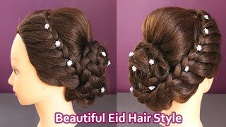 New Hairstyle 2018 Girl Simple For Eid 免费在线视频最佳电影电视