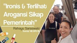 Bertemu Relawan Asing yang Diusir dari Palu, Rahayu Saraswati: Ironis, Terlihat Arogansi Pemerintah
