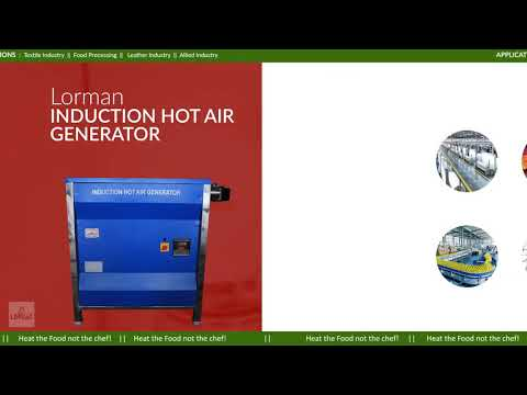 Induction Hot Air Generator