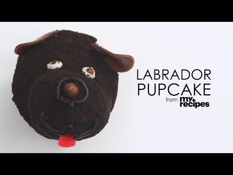 How to Make Labrador Pupcakes