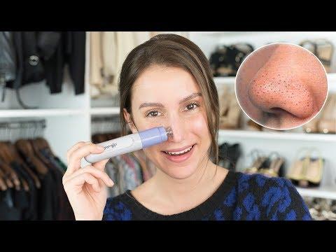 Olga sejmur die Maske für die Person von den Pickeln