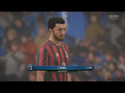EMPOLI vs AC MILAN   FIFA 18 PS4   ITALIAN SERIE A PREDICTION   CPU VS CPU
