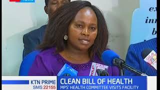 Parliamentary health committee tour Kenyatta National Hospital after rape allegations