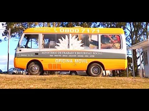 Visita del MINISTERIO DE TRABAJO a Cerro Pelado - Lavalleja - Uruguay