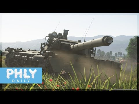 HARDEST BAGUETTE EVER500mm PEN (War Thunder AMX-40 Gameplay)