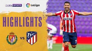 Real Valladolid 1-2 Atletico Madrid Pekan 38