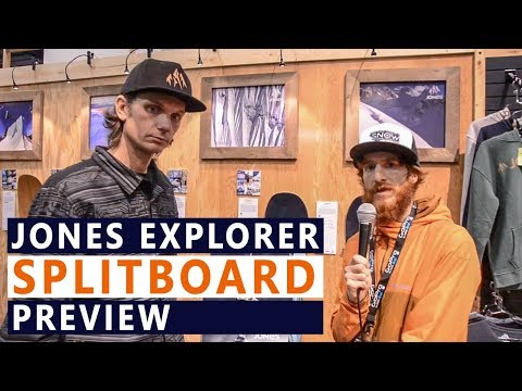 Jones Snowboards Explorer Splitboard Preview