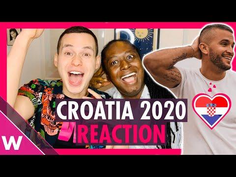 "Croatia Eurovision 2020 Reaction | Damir Kedžo - ""Divlji Vjetre"""