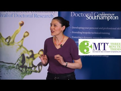 Graciela Arizmendi Gonzalez, Three Minute Thesis | University of Southampton