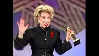 Bette Midler wins Best Actress Golden Globes 1992