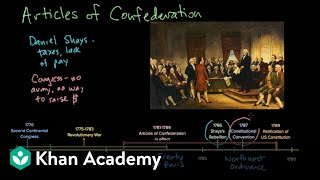 The Articles of Confederation | Period 3: 1754-1800 | AP US History | Khan Academy
