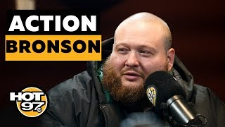 Ebro In The Morning - Action Bronson Keeps It REAL On Vice: 'I'm Ready For A New Chapter' + 'White Bronco'