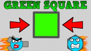 DIEP.IO GREEN SQUARE FOUND!! // How To Defeat Boosters & Smash...