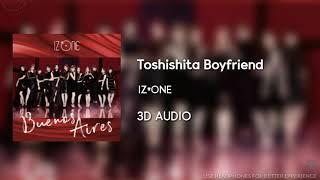 IZ*ONE (아이즈원) - 年下Boyfriend (Toshishita Boyfriend) [3D AUDIO USE HEADPHONES] | godkimtaeyeon