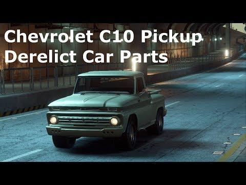 chevy c10 pickup derelict