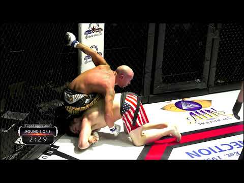 """Caged Aggression XXIV """"Champions"""" Night 2. Fight 6. Ronnie Forney vs Josh Neal"""