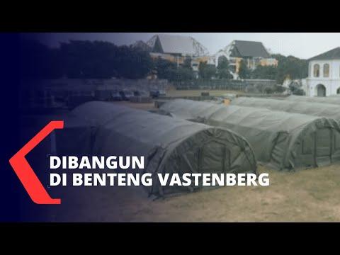 TNI AD Siapkan RS Lapangan Bagi Pasien Corona di Benteng Vastenburg Solo