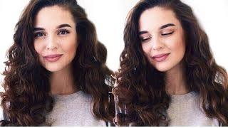 КУДРИ БЕЗ ПЛОЙКИ И БИГУДИ | Heatless Curls