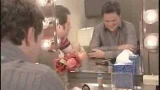 Donny Osmond with Jimmy Kimmel