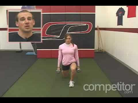 Monday Minute - Dumbell Reverse Lunge