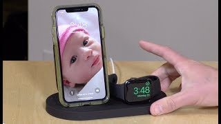Belkin Boost Up Wireless Charging Dock for iPhone + Apple Watch Review and Unboxing