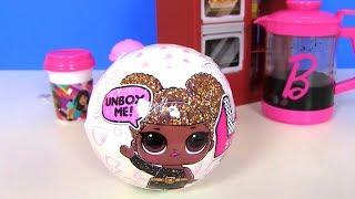 # Лол LoL Surprise Кафе Барби и Сюрпризы ЛОЛ #Видео для детей! Мультик с игрушками!