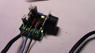 2000W 220V ac scr Электрический регулятор напряжения