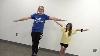 BOYS AND GIRLS CLUB   Kid Exercises with Kaylie