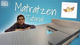 Matratzenbezug für Sofas ❤︎ zum selber Nähen | Made by Cataffo
