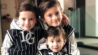 Lionel Messi's Sons | Thiago Messi With Mateo And Ciro Messi Roccuzzo | Cutest Moments Ever