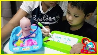 น้องบีม   รีวิวของเล่น EP116   ตุ๊กตา Baby Toys