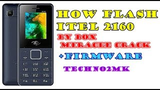 how to flash itel 2180 with miracle box - Kênh video giải trí dành