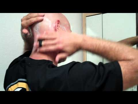 HeadBlade Sport Head Shave Demo