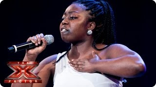 Hannah Barrett sings I'd Rather Go Blind by Etta James -- Bootcamp Auditions -- The X Factor 2013