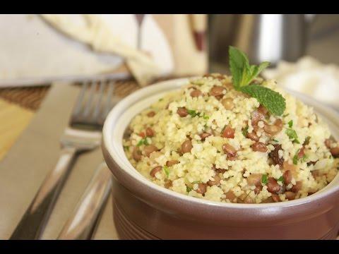 Ensalada de Couscous y Lentejas