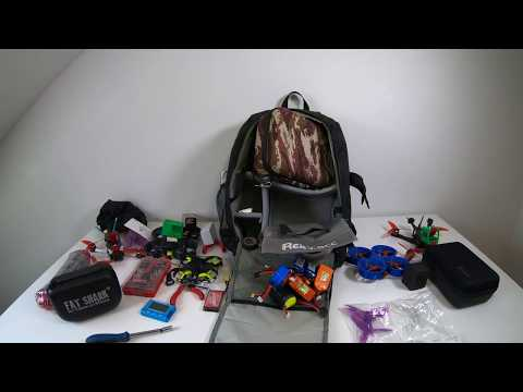 URUAV UR7 Great fpv backpack review from Banggood