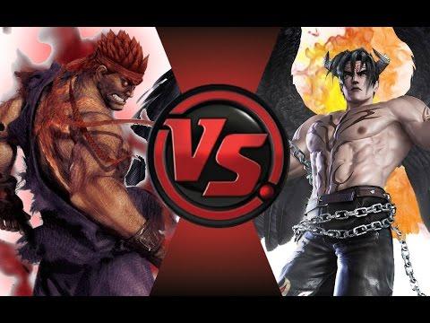 EVIL RYU vs DEVIL JIN! Cartoon Fight Club Episode 43