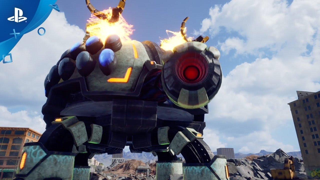 Earth Defense Force: Iron Rain Invades PS4 April 11