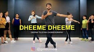 Dheeme Dheeme - Dance Cover | Tony Kakkar | Deepak Tulsyan Choreography | G M Dance