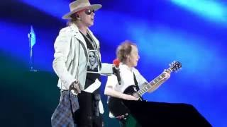 ACDC with Axl Rose - Touch Too Much - Prague 22.05.2016 - Lethany Airport - Multicam Mix