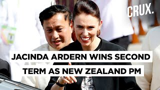 Jacinda Ardern Credits COVID-19 Handling For NZ Election Win, Says Will Form Govt in Three Weeks
