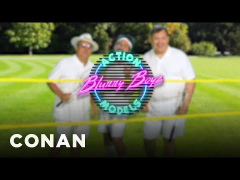 Andy Is The Face Of Blurry Boys Action Models – CONAN on TBS