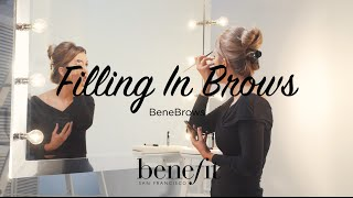 Our gorgeous Makeup & Trend Artist Lauren shows you how to fill in your brows with ease. Bye bye bad brow days, hello #wowbrows!  Discover the entire new brow collection here: http://bit.ly/29ewW3p  Shop browzings here: http://bit.ly/290JlYd Shop highbrow here: http://bit.ly/28XofHy Shop gimme brow here: http://bit.ly/292ibBk  Subscribe to our YouTube channel for more videos! https://www.youtube.com/benefitukroi