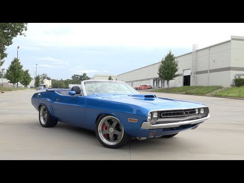 Video of '71 Challenger R/T - L6CD
