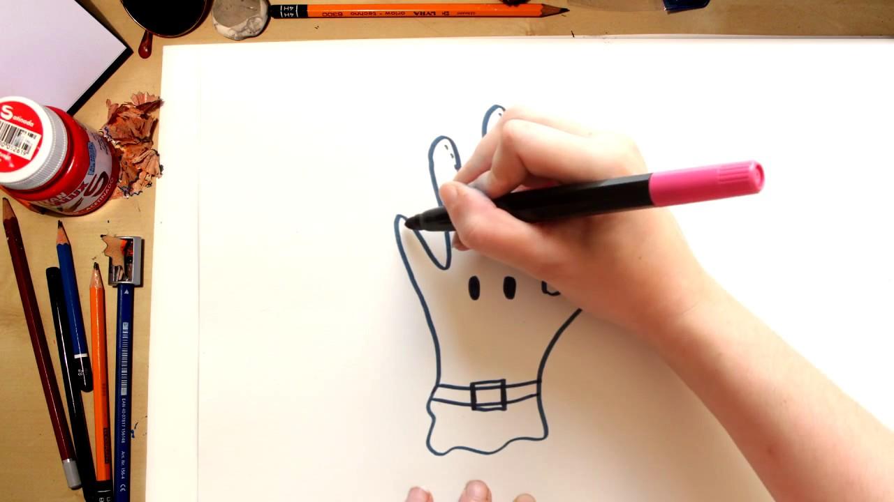 Como desenhar uma Luva, desenhos para crianças