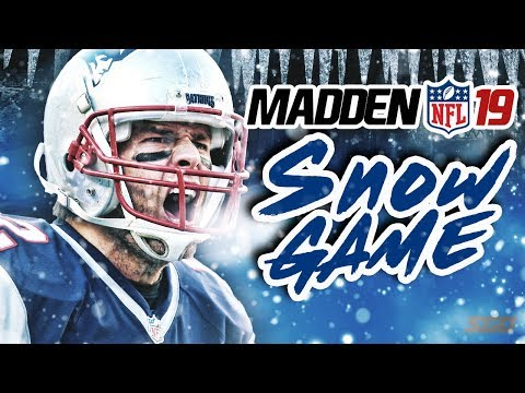 Madden NFL 19 Snow Gameplay! Patriots vs Raiders – Tuck Rule Part 2?